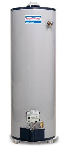 BFG122-50T40-3NOV - 50 Gallon 40000 BTU Flame Guard Standard Tall Natural Gas Water Heater - 12 Year Warranty