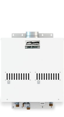 AGT-910-NIE - ASME Non-Condensing Indoor-Outdoor 380,000 BTU Natural Gas Tankless Water Heater