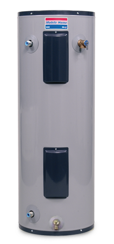 MHEW2-30L-035D - 28 Gallon Lowboy Mobile Home Electric Water Heater - 6 Year Warranty