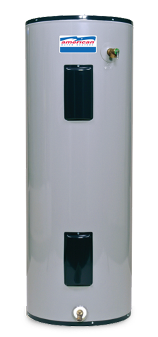 E92-40R-045DV - 40 Gallon Short Standard Electric Water Heater - 9 Year Warranty
