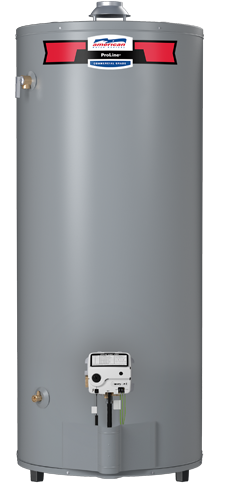 G62-75T75-4PV - 74 Gallon 75,100 BTU Ultra-High Recovery Liquid Propane Water Heater - 6 Year Warranty