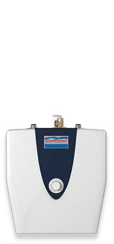 E1E2.5US015V - 2.5 Gallon Point-of-Use Specialty Electric Water Heater - 6 Year Limited Warranty