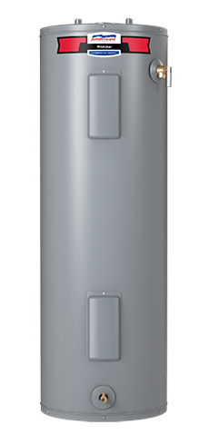 E6N-55H - 55 Gallon Tall Standard Electric Water Heater - 6 Year Limited Warranty