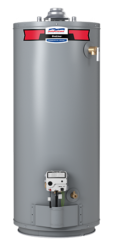 GB101-40S40 - 40 Gallon Atmospheric Vent Natural Gas Water Heater -10 Year Warranty