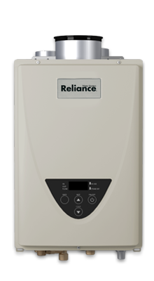 TS-110C-GI - Concentric Vent Non-Condensing Indoor 140,000 BTU Natural Gas/ Liquid Propane Tankless Water Heater