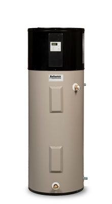 10 50 DHPST - 50 Gallon Hybrid Electric Heat Pump Water Heater - 10 Year Warranty