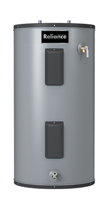 9 50 EKRS - 50 Gallon Medium Self-Cleaning Electric Water Heater - 9 Year Warranty
