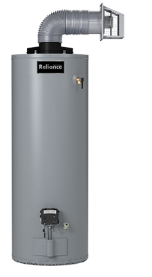 6 50 YBDS - 50 Gallon Direct Vent Natural Gas Water Heater - 6 Year Warranty