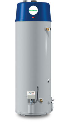6 50 YTVIT - 50 Gallon High Recovery Power Vent Natural Gas Water Heater - 6 Year Warranty