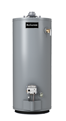 6 40 NBRBS - 40 Gallon Tall Natural Gas Water Heater - 6 Year Warranty