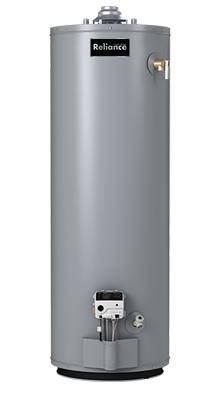 6 40 UNBCT - 40 Gallon Tall Ultra Low NOx Natural Gas Water Heater - 6 Year Warranty