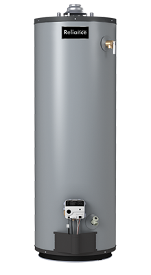 9 50 UNKCT -50 Gallon Tall Ultra Low NOx Natural Gas Water Heater - 9 Year Warranty