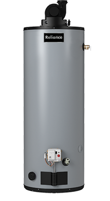 6 50 HRVIT - 50 Gallon High Recovery Power Vent Liquid-Propane Water Heater - 6 Year Warranty