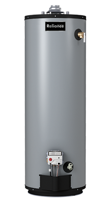 12 50 PACT - 50 Gallon Tall Liquid Propane Water Heater - 12 Year Warranty