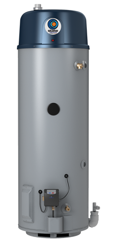 Premier® High Efficiency Power Vent 50-Gallon Gas Water Heater