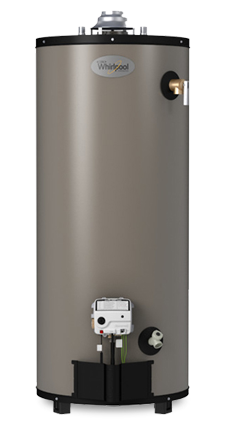 50T12 40NG HERO tall natural gas water heater whirlpool 50t12 40ng 592554 50 50 Gallon Gas Hot Water at eliteediting.co