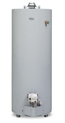 50 Gallon Tall Natural Gas Water Heater - 6 Year Warranty