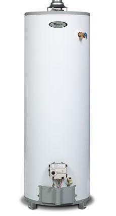 Whirlpool hot water heater dating