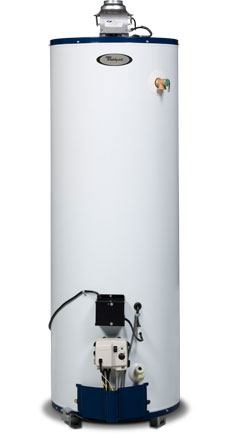 40 Gallon Tall Energy Efficient Natural Gas Water Heater - 6 Year Warranty