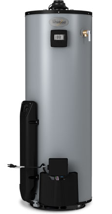 40 Gallon Tall High Efficiency Natural Gas Water Heater - 12 Year Warranty