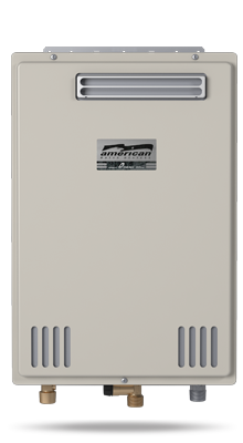 GT-110U-E - Non-Condensing Ultra-Low NOx Outdoor Natural Gas/Liquid Propane Tankless Water Heater