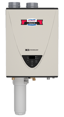 GT-540X3-NIH - Condensing Ultra-Low NOx Indoor 199,000 BTU Natural Gas Tankless Water Heater with X3 Scale Prevention Technology