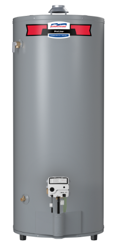 G62-75T75-4NOV - 74 Gallon High Recovery Natural Gas Water Heater - 6 Year Warranty