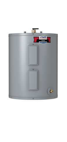 E6N-40L - 40 Gallon Lowboy Top Connect Standard Electric Water Heater - 6 Year Limited Warranty
