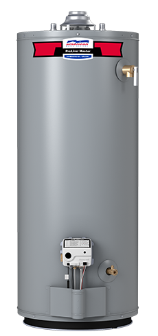G82-50S40 - ProLine® Master 50 Gallon Atmospheric Vent Natural Gas Water Heater - 8 Year Warranty