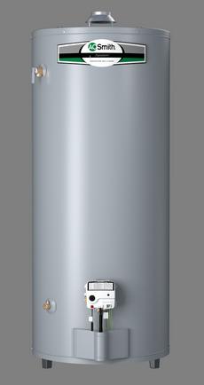 100 Gallon Tall Natural Gas Water Heater 6 Year Warranty 76k Btu A O Smith