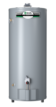 100 Gallon Ultra Low Nox High Recovery Natural Gas Short Water Heater A O Smith