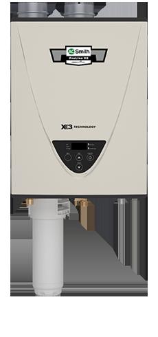Tankless Water Heater Condensing Ultra-Low NOx Indoor 199,000 BTU Liquid Propane