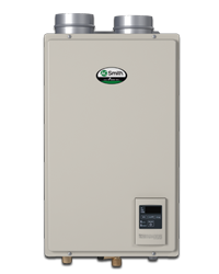 AO SMITH ATI-140H-N CONDENSING INDOOR TANKLESS WATER HEATER, 120,000 BTU, NATURAL GAS MC341463