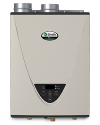 tankless water heater condensing ultralow nox indoor btu natural gas