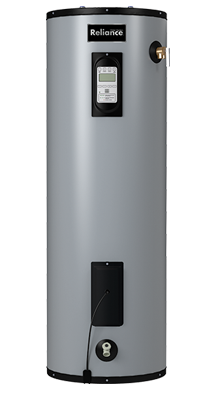 12 40 EGRT - 40 Gallon Tall Electric Water Heater w/Touch Screen and Leak Detection - 12 Year Warranty
