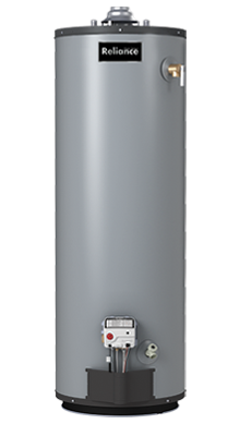 9 40 PKCS - 40 Gallon Short Liquid Propane Water Heater - 9 Year Warranty