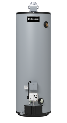 6 40 GBFT - 40 Gallon Tall Energy Efficient Natural Gas Water Heater - 6 Year Warranty