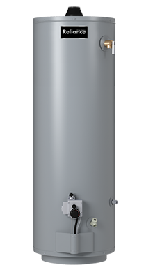 6 40 MDV - 40 Gallon Mobile Home Natural Gas/Propane Water Heater - 6 Year Warranty
