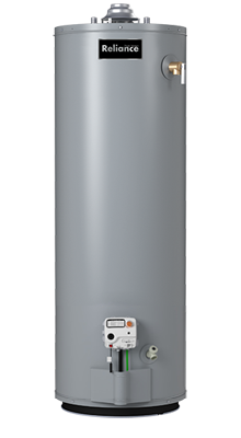 6 40 NOMT - 40 Gallon Mobile Home Natural Gas/Propane Water Heater - 6 Year Warranty