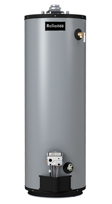 12 50 NQCT - 50 Gallon Self-Cleaning Natural Gas Water Heater - 12 Year Warranty