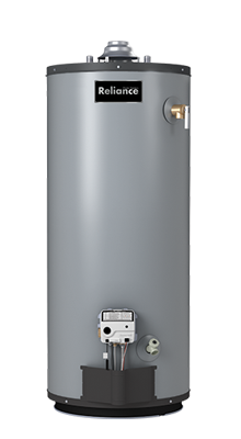 9 40 NKCS - 40 Gallon Self-Cleaning Natural Gas Water Heater - 9 Year Warranty