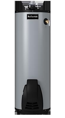 6 40 UNBFT High Efficiency Non-Condensing Flue Damper 40-Gallon Gas Water Heater