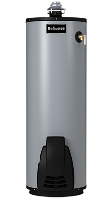 6 50 UNBFT High Efficiency Non-Condensing Flue Damper 50-Gallon Gas Water Heater