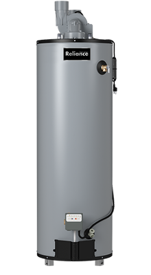6 50 UBVIT 50 Gallon Tall Ultra Low NOx Power Vent Natural Gas Water Heater - 6 Year Warranty