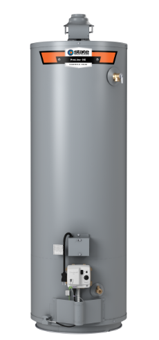 ProLine® XE High Efficiency Non-Condensing Flue Damper 40-Gallon Gas Water Heater