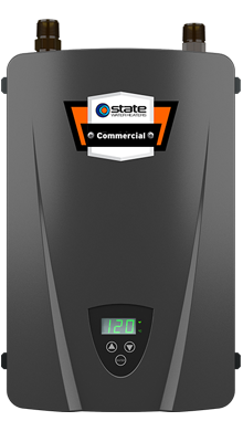 Electric Tankless 240V / 14kW 2-Chamber Commercial Water Heater C2VS-140E